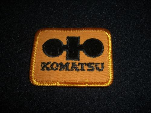 Komatsu Patch 1980's Original