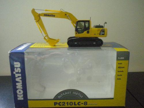 Komatsu PC210LC-8 Galeo 1:50 scale