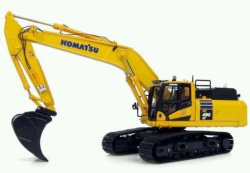 KOMATSU PC 490LC 10 diecast excavator 1:50 universal hobbies