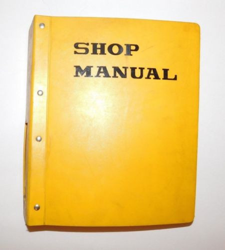 KOMATSU 95 Series Diesel Engine Shop Service Repair Parts Owners Manual