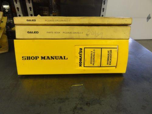 Komatsu PC228US-3  PC228USLC-3 Hydraulic Excavator Shop Manual