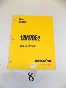 KOMATSU 12V170E-2 ENGINES SERVICE SHOP REPAIR MAINTENANCE MANUAL