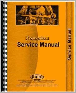 New Komatsu D150A-1 Crawler Service Manual