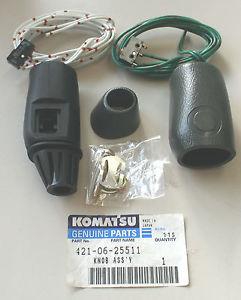 Original Komatsu 421-06-25511 Joystick WA470-3 Schalter Switch Assembly