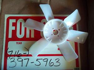 New Komatsu D20 D21 cooling fan -5, -6, -7