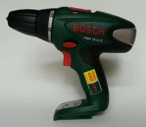 Bosch PSR 18 LI-2 Drill/Driver.