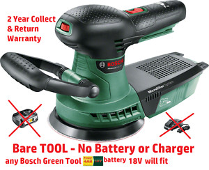 new Bosch Advanced Cordless ORBITAL SANDER 18V BareTool 06033D2100 3165140874618