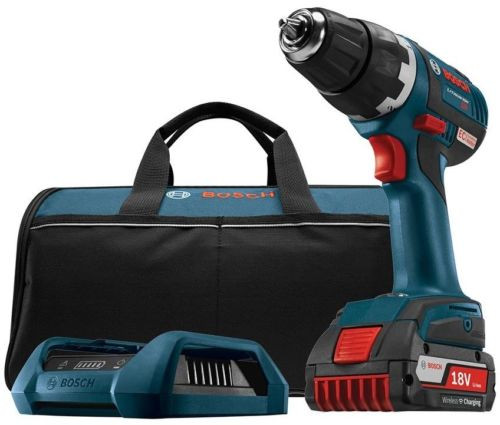 Drill Driver Cordless Variable Speed Keyless Compact 18 Volt Lithium-Ion Kit