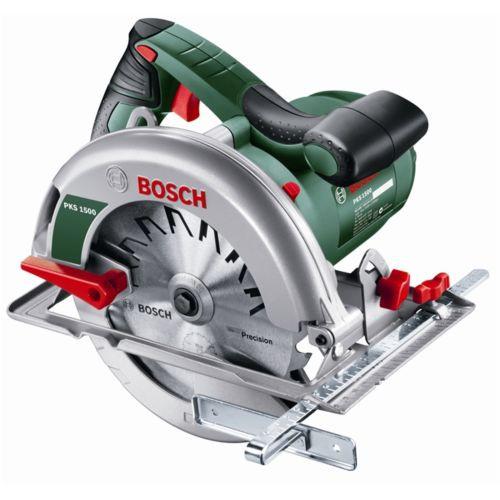 Bosch PKS1500 Hand Held Powerful Corded 1500W 184mm Compact Circular Saw