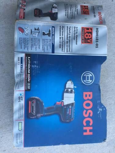 Bosch 18Volt HDH-181-01