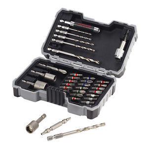 Bosch 2607017328 HSS-G Drills for Metal / Screwdriver Bit Set 35 Piece