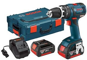 Bosch HDS182-01L 18V Brushless 1/2in Compact Tough Hammer Drill/Driver Kit