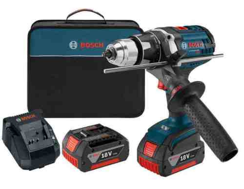 18-Volt Lithium Ion 1/2-in Cordless Drill Battery and Soft Case Bundle Hardware