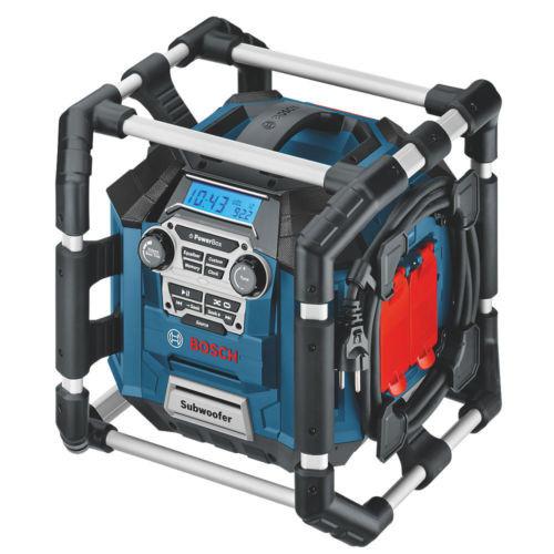 Bosch GML20 AM / FM Jobsite Radio 240V