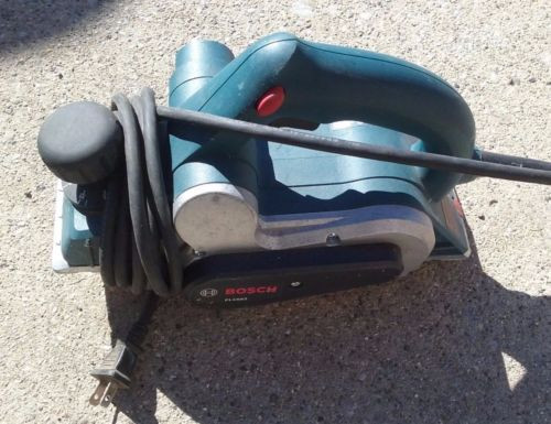 """Bosch 6 Amp Corded Electric 3-1/4"""" Planer PL1682 used"""