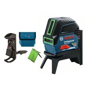 Bosch GCL2-15G Professional Green Cross Line Level Laser + RM1 Mount