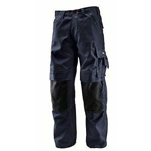 Bosch Professional WKT 010 0618800201, Pantaloni con Ginocchiere, Colore Blu,