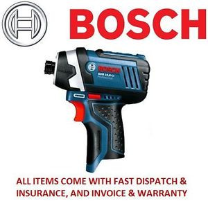 BOSCH Professional GDR 10.8-LI 10.8V Impact Driver Drill (Body Only) no battery