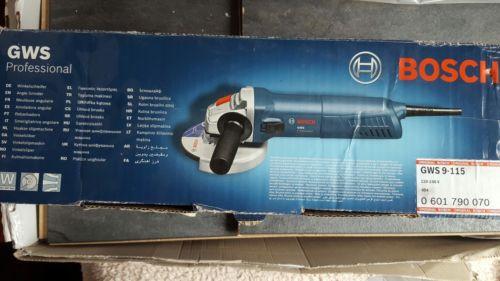Bosch GWS 9-115 Professional Angle Grinder