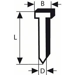Bosch 2608200511 - Chiodo a testa svasata 1,2/18g SK50 16G