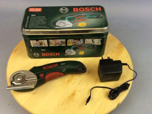 Bosch Xeo Cordless Universal Cutter, recharegable Li-Ion - Ship Worldwide