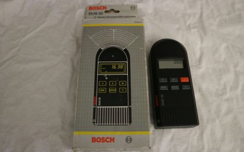 Medidor telemetro ultrasonico Measurent ultrasonic device Bosch Dus 20