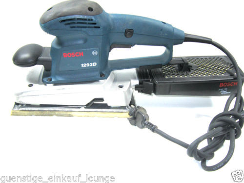 BOSCH Orbital sander,Grinder, Sharpener 1293 D 120 V