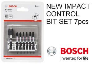 BOSCH IMPACT CONTROL 7 PIECE IMPACT PH2/PZ2/T15-20-25-30 BIT SET