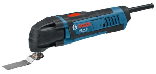 New Bosch GOP250CEC Professional Multi-Cutter Powertool 240V C/W Adaptor Plate