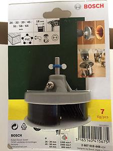 Original Bosch hole cutter accessories