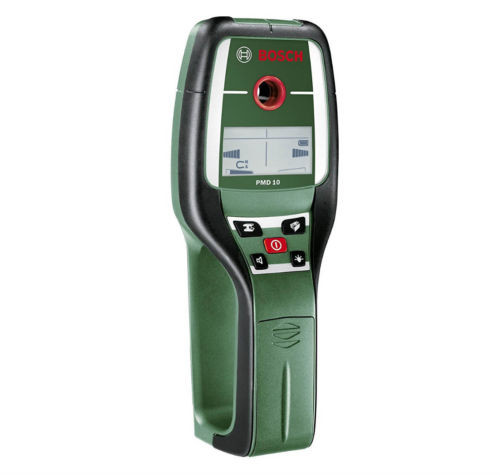 Bosch 603681000 PMD 10 New Led Visual Cordless Multi Detector High visibility
