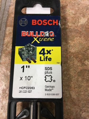 BOSCH HCFC2263 Hammer Drill Bit, SDS Plus, 1x10 In