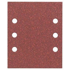 Bosch 2608607462 Fogli abrasivi per levigatrice 115 x 140 mm, Grana 60, 10 pezzi