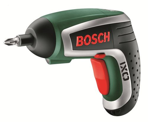 Bosch IXO Cordless Lithium-Ion Screwdriver with 3.6 V Battery, 1.3 Ah