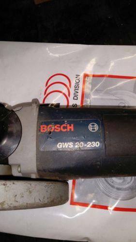 smerigliatrice bosch gws20-230