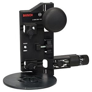 Bosch 2609200143 Compasso di Fresatura e Adattatore