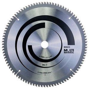 Bosch 2608640770 - Lama per sega circolare multi-materiale, dimensioni: 350 x 30