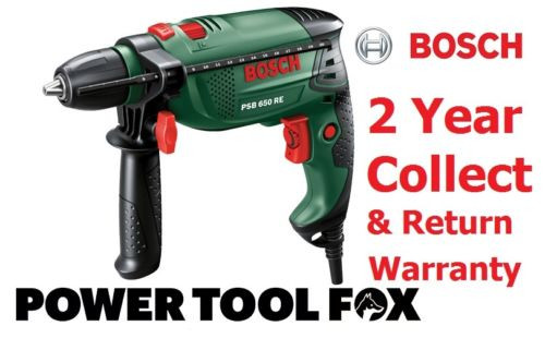 - new - Bosch PSB 650 RE Compact Corded IMPACT DRILL 0603128070 3165140512374