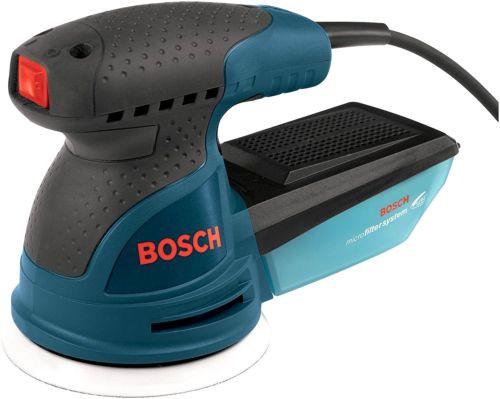 Bosch Orbit Sander Polisher 2.5 Amp 5 in. Corded Random Polishing Variable Speed