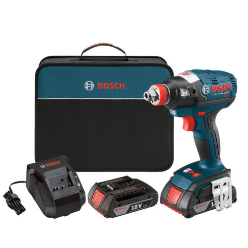 Bosch 18V 1/2-in Cordless Variable Speed Brushless Impact Driver w/ Soft Case