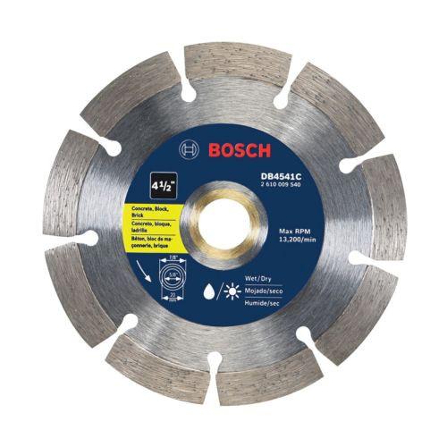 Bosch DB4541C Premium Segmented Diamond Blade 4.5-Inch 4-1/2-Inch