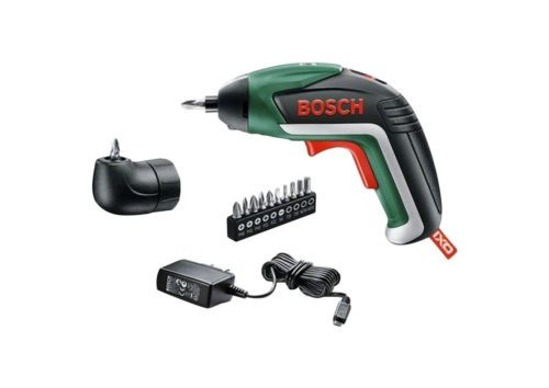 Bosch IXO V Cordless Screwdriver with Charger and Screw Bit Set
