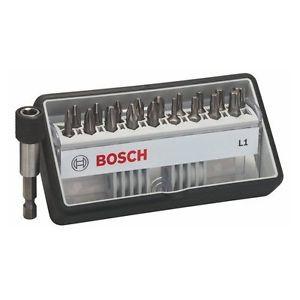 Bosch 2 607 002 567 - Set di bits Robust Line L Extra Hard, 18 +1 pz.