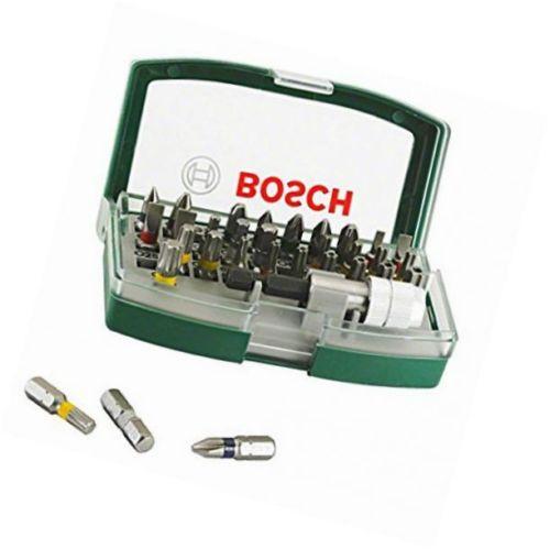 Bosch 2607017063 Screwdriver Bit Set, 32 Pieces