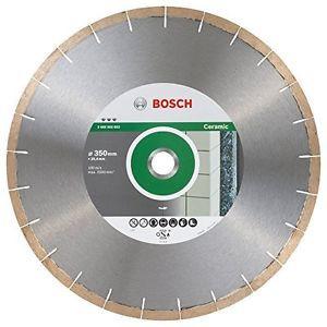 BOSCH disco diamantato Best per Ceramic and Stone, 350 x 25,40 x 1,8 x 10 mm,