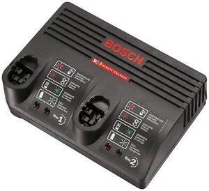 Bosch BC230 30-Minute Dual Bay Battery Charger - 2607225069 - NEW