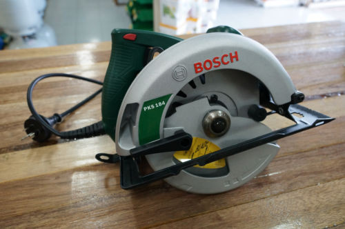"Bosch PKS184 1500 Watt Circular Power Saw 184mm 7 1/4"" Brand New Includes Blade"