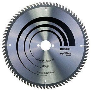 Bosch Zubehör 2608640660, Lama per sega circolare per legno Optiline Wood 250 x