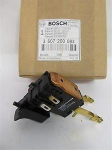 Bosch 3 607 200 083 On-Off / Trigger Switch BT Exact9 12v Cordless Drill