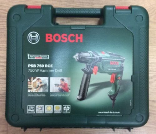Bosch PSB 750 RCE 750w Hammer Drill New.